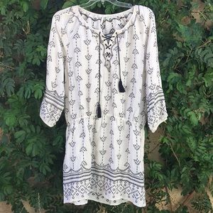 Joie Cotton embroidered Dress